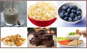 Six quick and easy health snack ideas