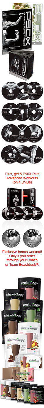 P90X Challenge pack long