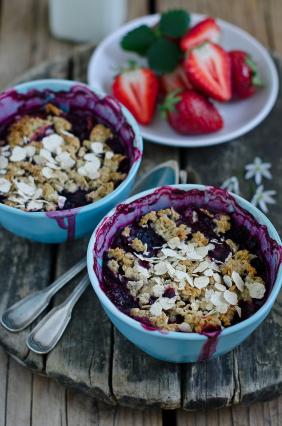 Blueberry Buckle Granola