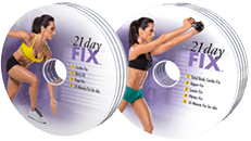 21 Day Fix DVDs