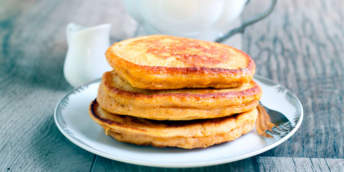 Multi-Grain Banana Pancakes
