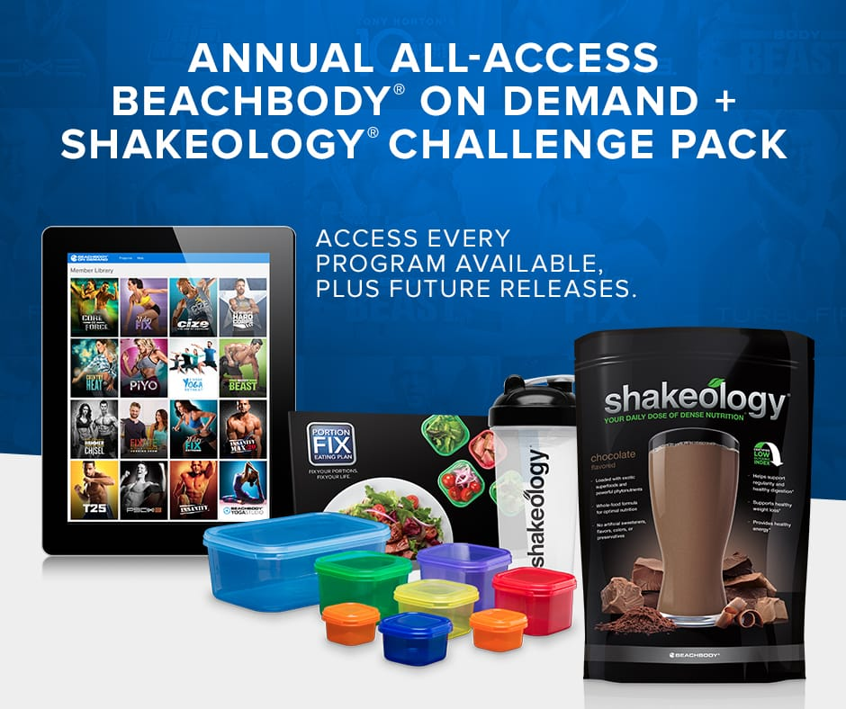 All Access BOD Plus Shakeology